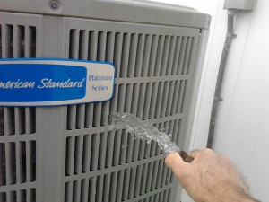 Cleaning AIr Conditioning Condenser