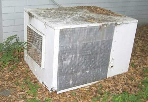 how to clean dirty ac condenser